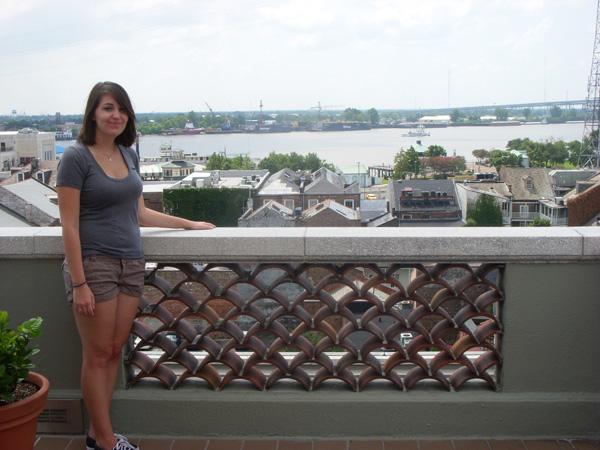Meredith Lambert in New Orleans.