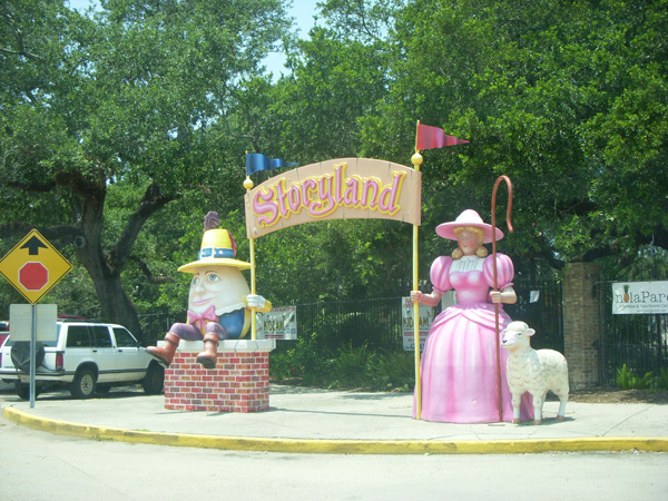 Storyland in New Orleans.