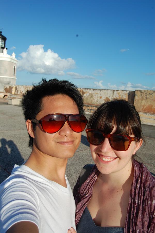 Merevin visits El Morro in Puerto Rico.