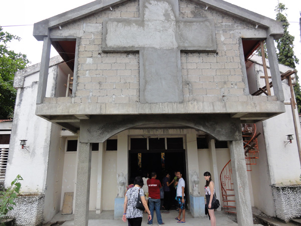 The Banogon Family Reunion started with a catholic mass at the local church.