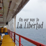 On our way to La Libertad