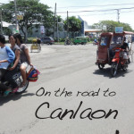 On the Road to Canlaon City