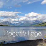 Apgar Village and Lake MacDonald with Merevin