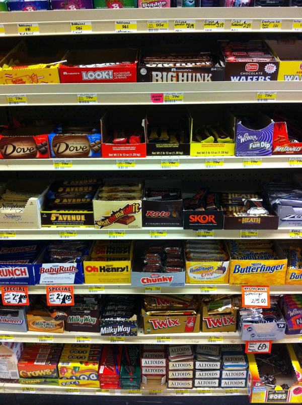 Bozeman, Montana has a great selection of candy within Big Sky Country.