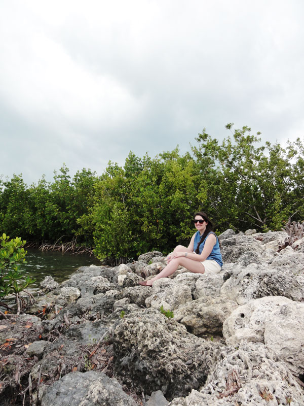 Meredith Lambert takes a moment to pause at Bill Baggs Florida State Park for her Miami travel blog.
