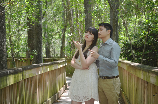 Meredith Lambert and Kevin Banogon discuss the complexities of the Big Cypress National Preserve.