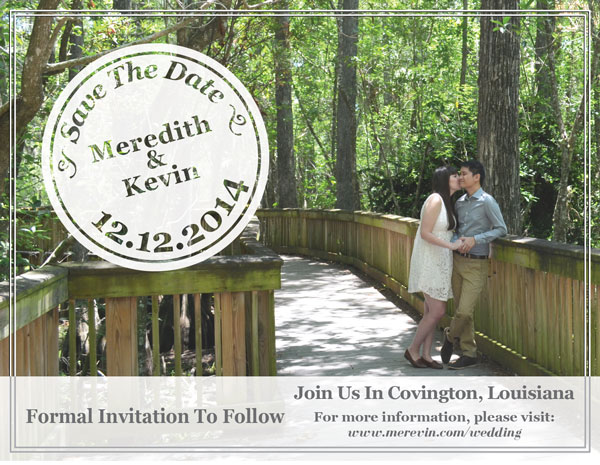 Meredith Lambert and Kevin Banogon announce the date for their upcoming wedding.