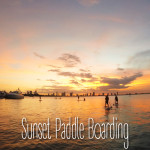 Sunset Paddle Boarding in Miami