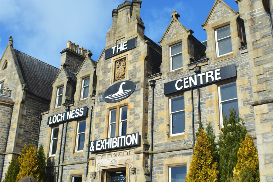 The Loch Ness Centre and Exhibition is a great stop along a road trip to the Isle of Skye.
