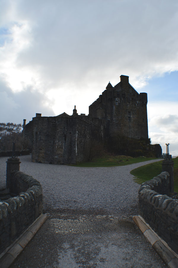 The Eilean Donan Castle is one of the most visited Scottish castles in the Highlands.