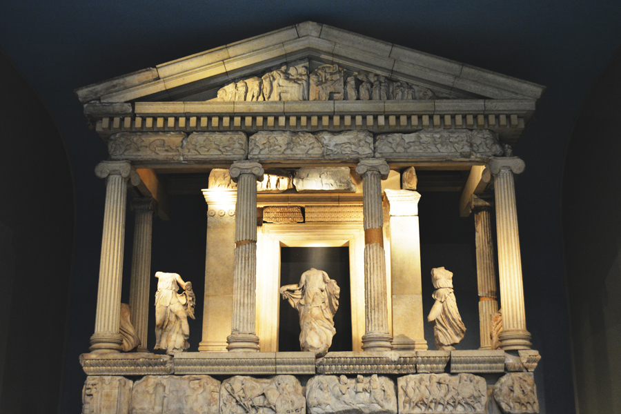The Nereid Monument takes up an entire gallery at The British Museum.