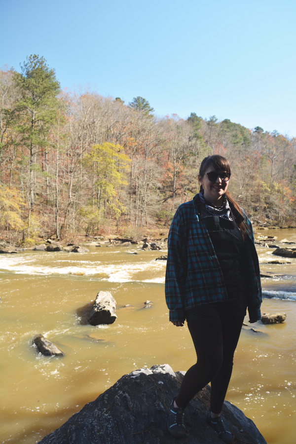 Meredith Lambert Banogon visits Sweetwater Creek State Park on a lazy Sunday afternoon.