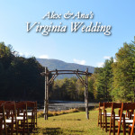 The Outdoor Beauty of a Virginia Wedding